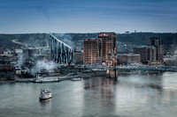Covington, Kentucky Skyline
